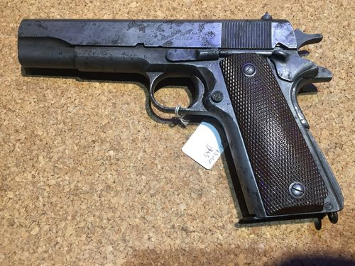 Pistolet REMINGTON 1911a1 - WW2
